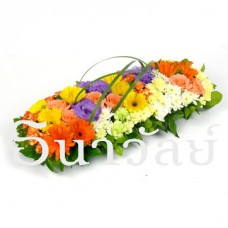Colorful Table Floral Centerpiece