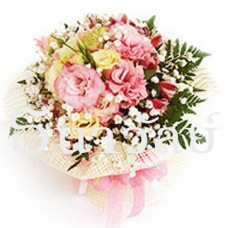 The pretty pink bouquet