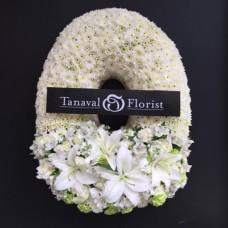 White wreath พวงหรีด W1703